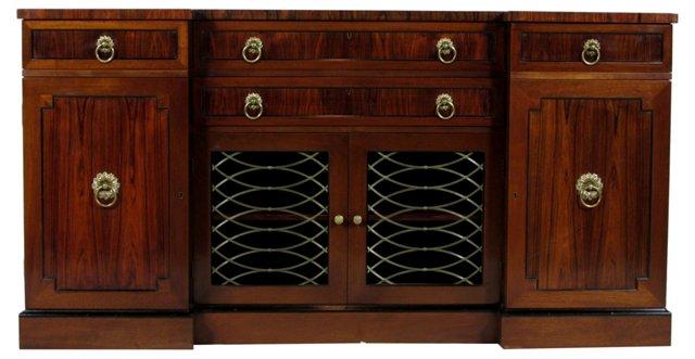 Regency-Style Rosewood Server