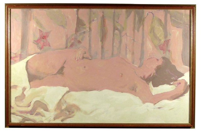 Sleeping Nude by Stansbury
