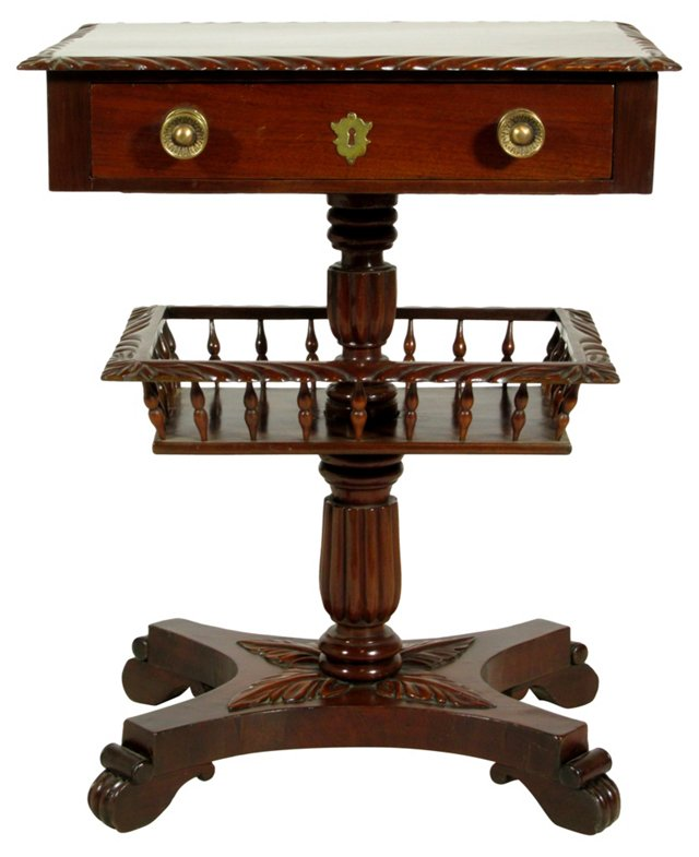 19th-C.  American Work Stand
