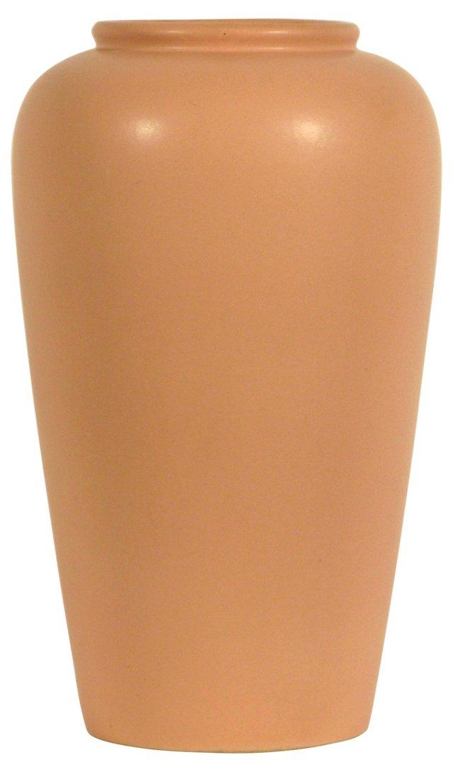 Pink Stoneware Vase