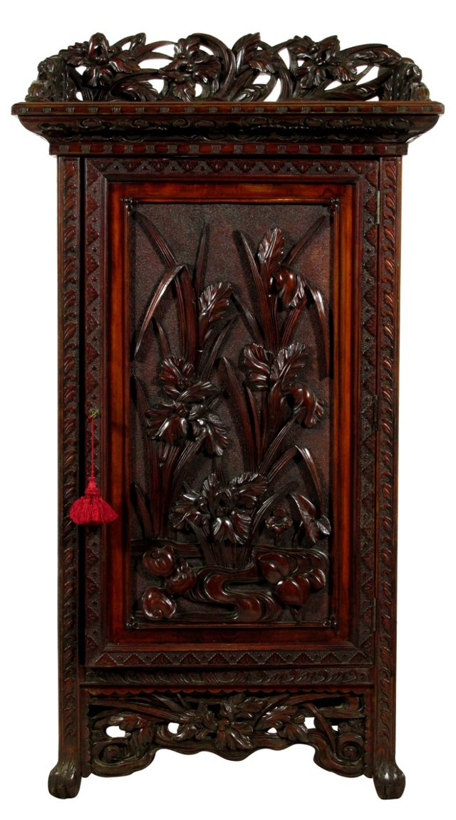 Late-19th-C. Chinese Document Cabinet