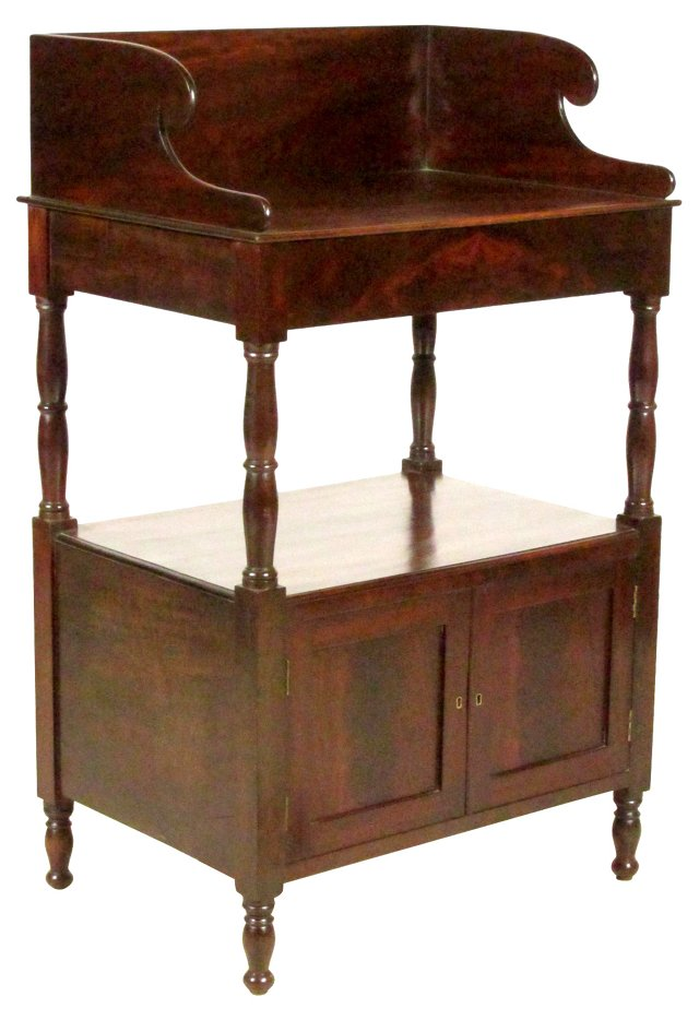 19th-C. American Serving Stand