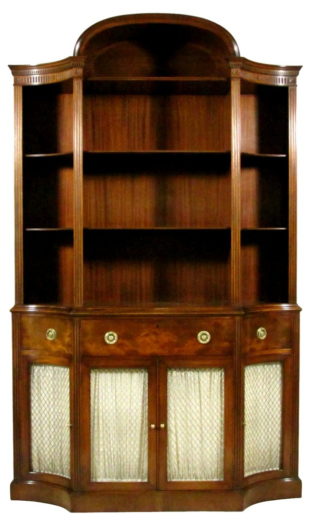 Secretary Bookcase by Gerte