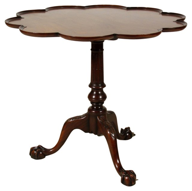 Chippendale-Style Tea Table