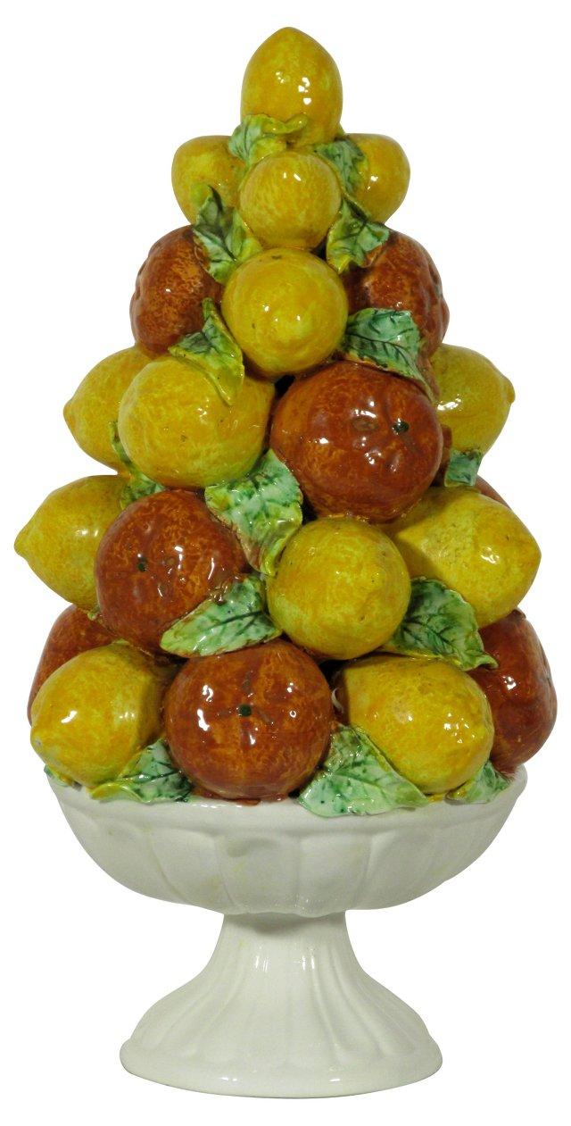 Capodimonte Bowl of Fruit