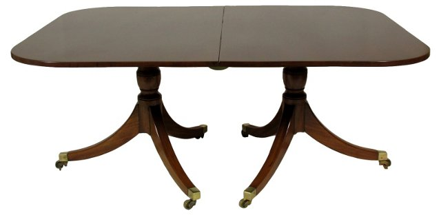 English  Regency  Dining Table