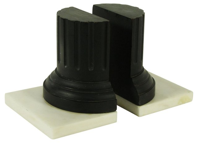Architectural Bookends