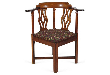 18th-C. Roundabout  Chair