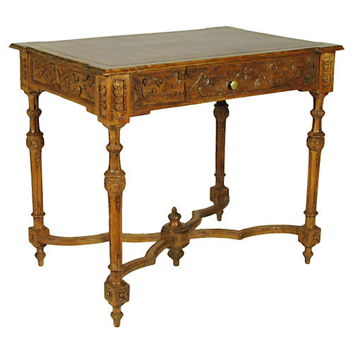 19th-C. Italian Writing Table