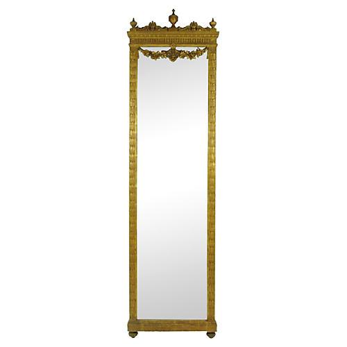 19th-C. French Pier Mirror