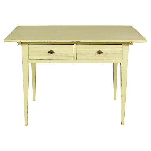 19th-C. Gustavian-Style Side Table