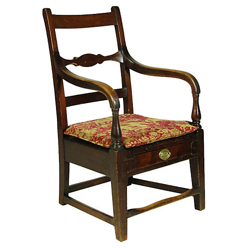 19th-C. Federal Easy Chair