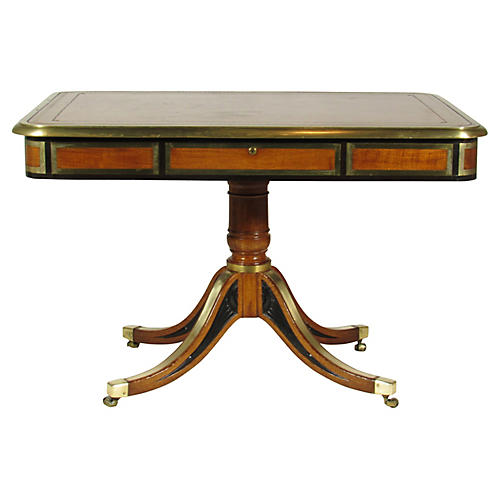 19th-C. Regency Library Table