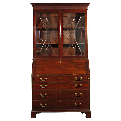 18th-C. George III Bureau Secretary
