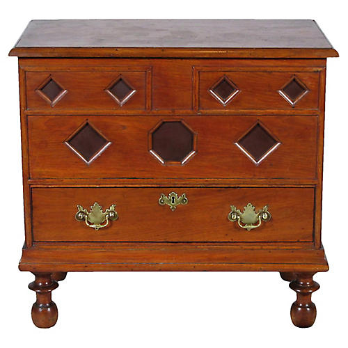 Baroque-Style Blanket Chest