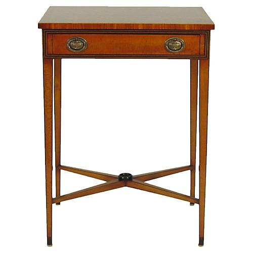 Georgian-Style Inlaid Side Table