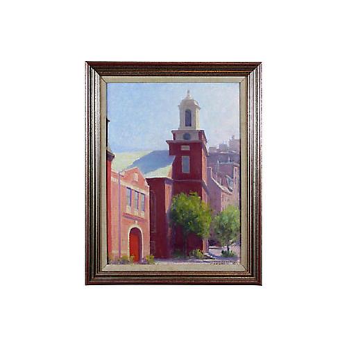 Boston Beacon Hill Firehouse