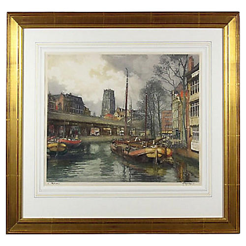 Rotterdam Engraving