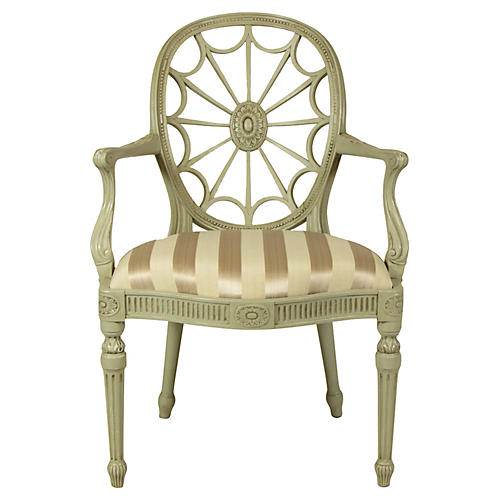 19th-C. English Armchair