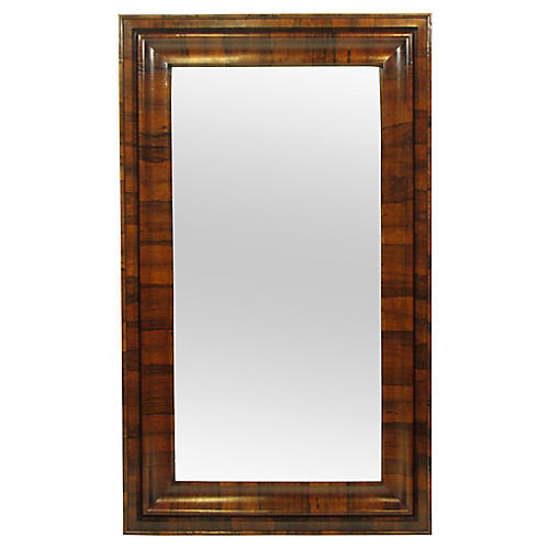 19th-C. Empire Rosewood Mirror