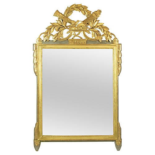 19th-C. French Louiis XVI Style MIrror