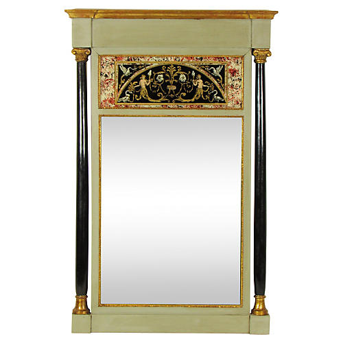 Early-20th-C. Italian Empire Mirror
