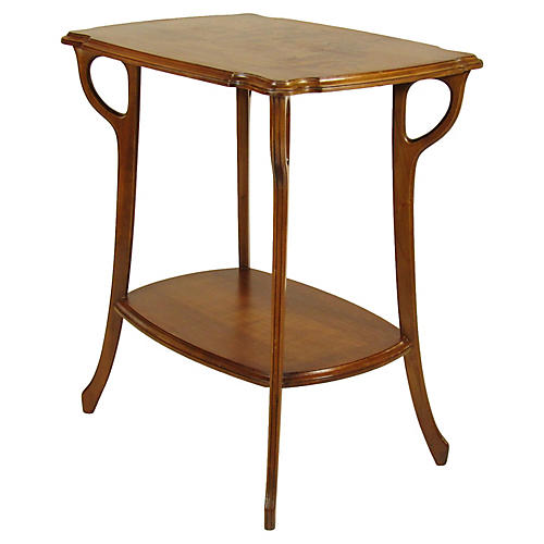 Art Nouveau Occasional Table by Galle
