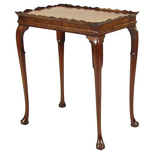 19th-C. English Tea Table