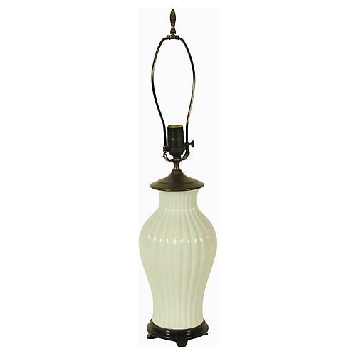 Chinese Blanc de Chine Lamp