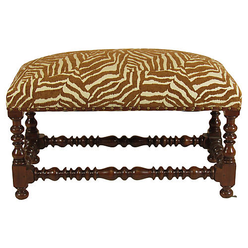 French Baroque-Style Bench