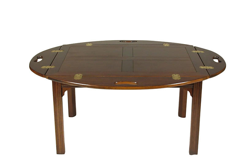 Butler's Tray Coffee Table by Baker