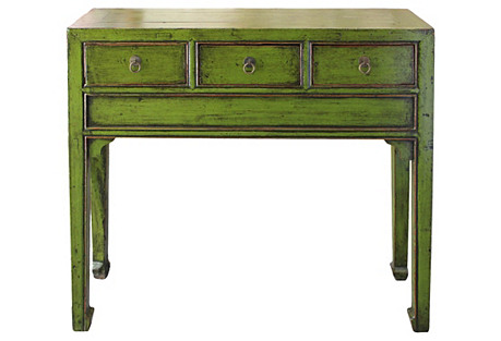 Lime Green Console