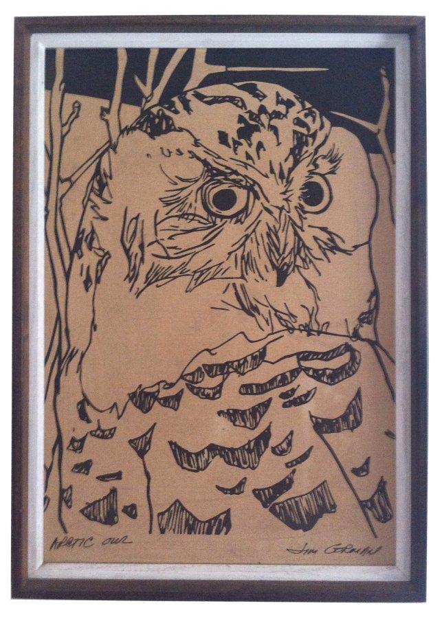Arctic Owl   by   Jim Gorman