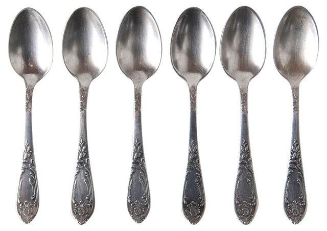 Teaspoons, Svc. for 6
