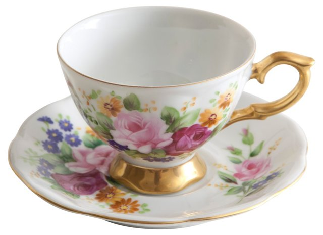 Robinson's of California Cup & Saucer