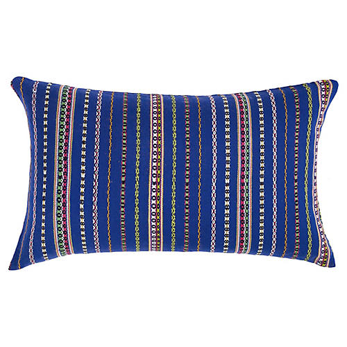 Royal Blue Zunil Pillow
