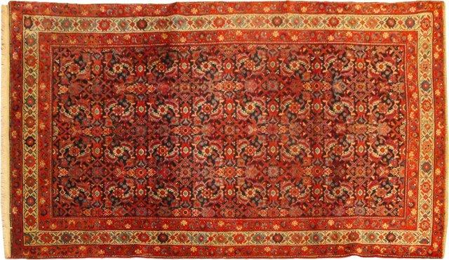 "Antique Persian Malayer Rug, 6'6"" x 4'1"""