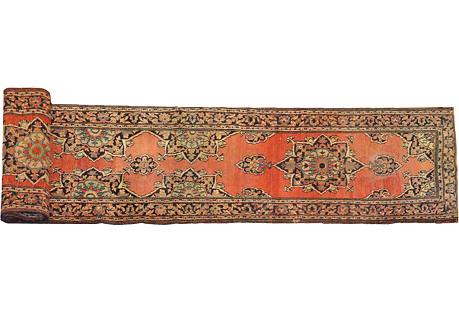 Antique Persian Runner, 11'9