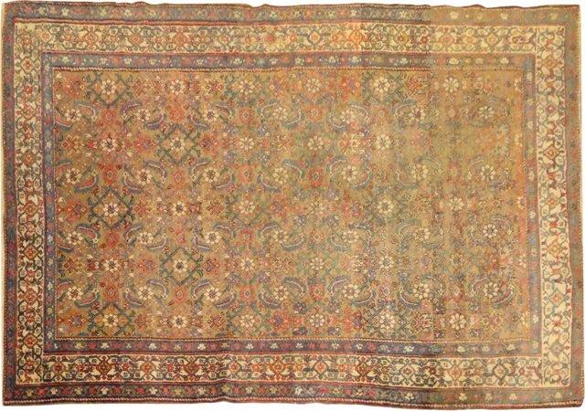 "Antique Persian Feraghan, 6'7"" x 4'5"""