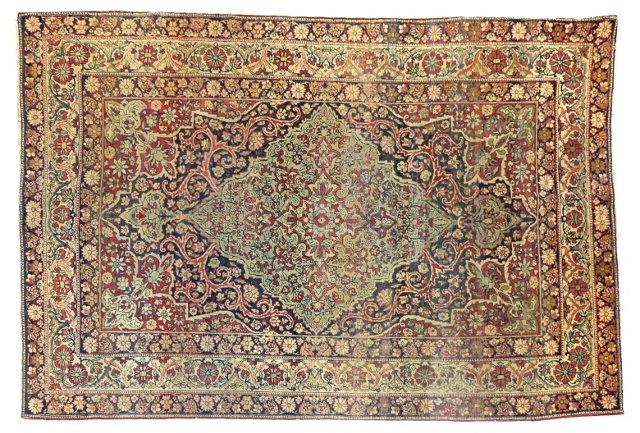 "Antique Persian Kermanshah, 6' x 3'11"""