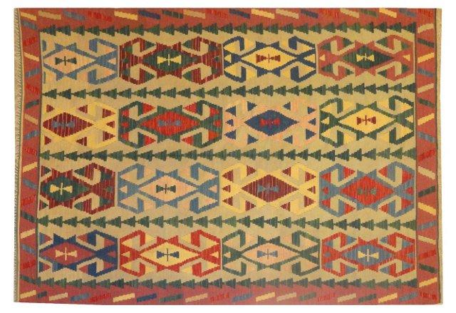 Anatolian Kilim, 8' x 6'