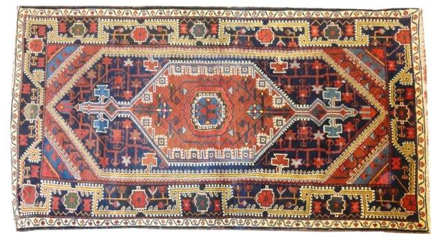 "Antique Persian Malayer, 7'1"" x 4'1"""