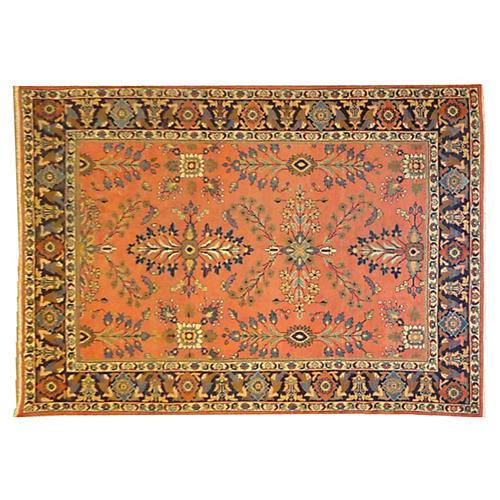 """Antique Sultanabad Carpet, 10'2"""" x 7'5"""""""