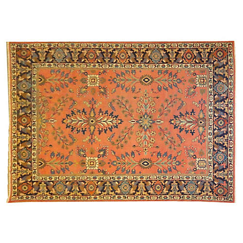 "Antique Sultanabad Carpet, 10'2"" x 7'5"""