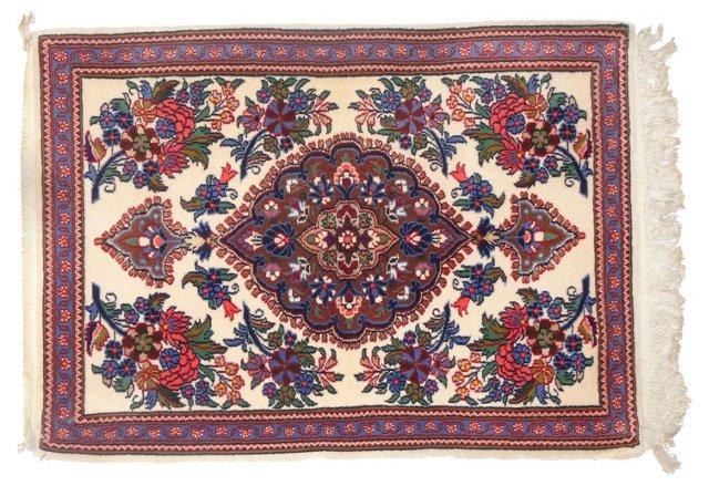 """Persian Qum, 3' x 2'2"""""""