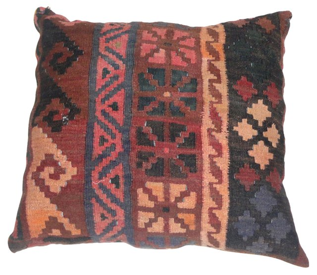 Pillow w/  Antique   Kilim