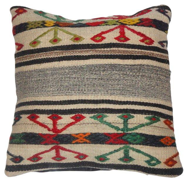Navajo-Style Rug Pillow