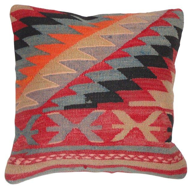 Geometric Kilim Pillow