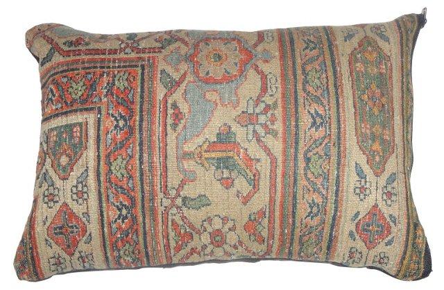 Pillow w/ Antique Beige Dorokhsh