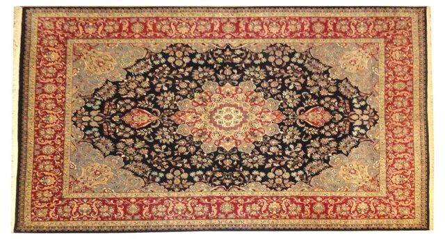 """Tabriz-Style Rug, 12'3"""" x 9'1"""""""